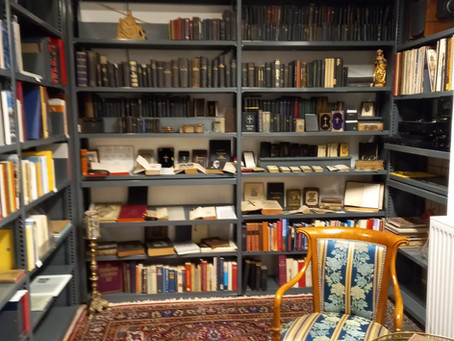 """Historische Bibliothek"" fertiggestellt."