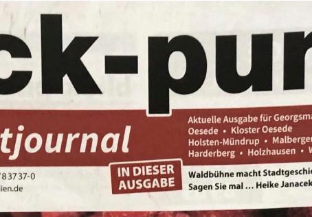 """Neues aus dem Museum im """"BLICKPUNKT"""" Georgsmarienhütte"""