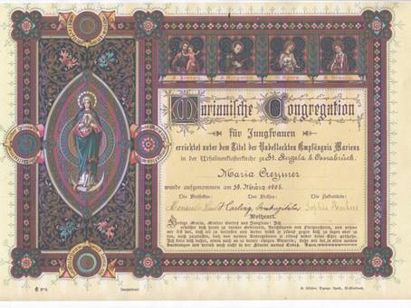 Andenkenbilder zu besonderen Anlässen z.B. zur Erstkommunion, Konfirmation, Firmung, u.s.w