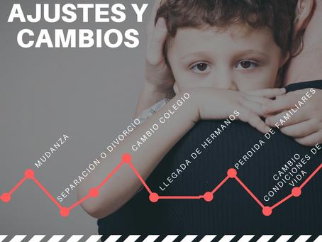 Ajustes y Cambios: ¿cómo acompañar a los niños en su gestión?