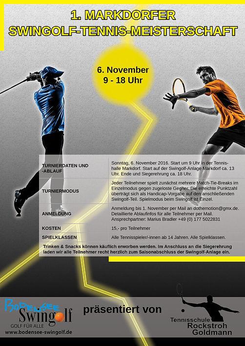 Swingolf Tennis Meisterschaft