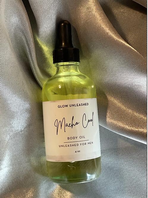 Macho Cool Body Oil