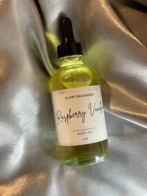 Raspberry Vanilla Body Oil