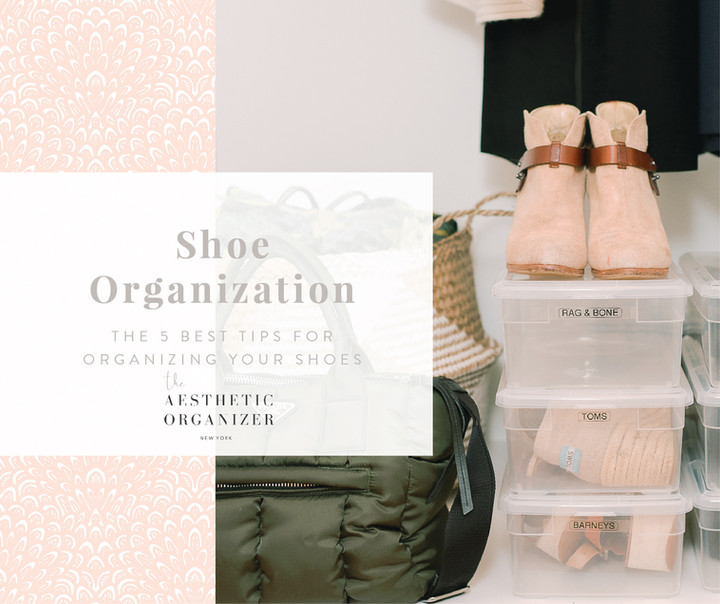 Shoe Organization: My Five Best Tips
