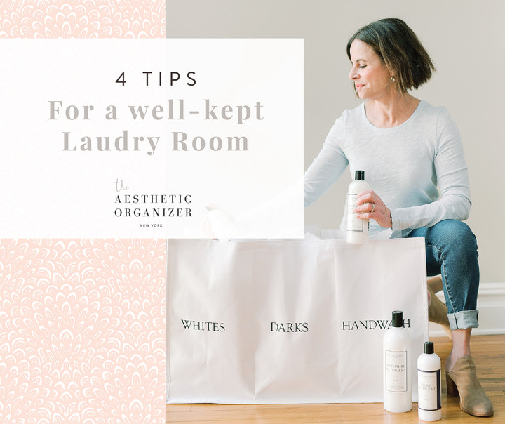 4 Tips for a Well-Kept Laundry Room