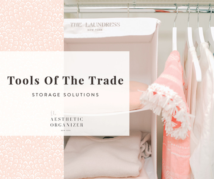 Tools of the Trade: Storage Solutions with The Laundress