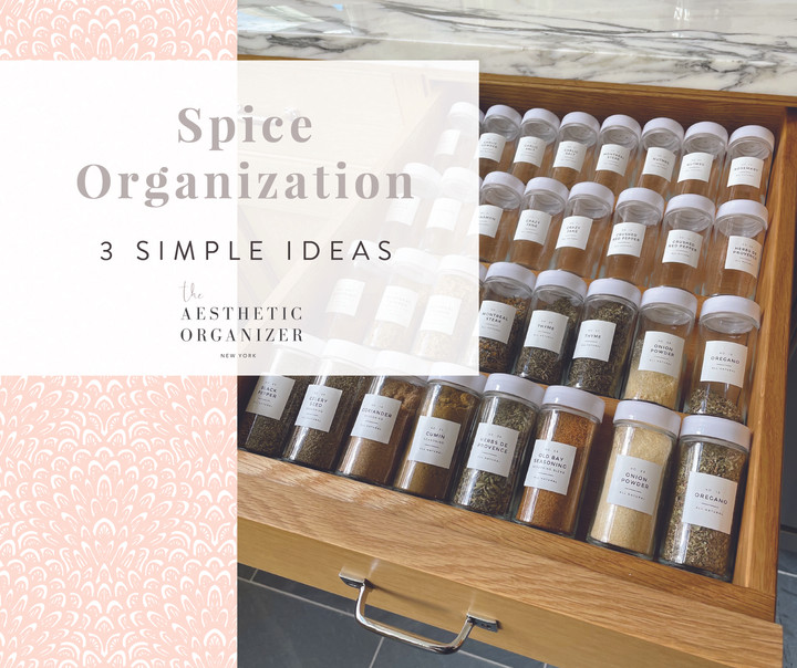 Spice Organization- 3 Simple Ideas