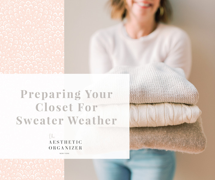 Preparing Your Closet for Sweater Weather