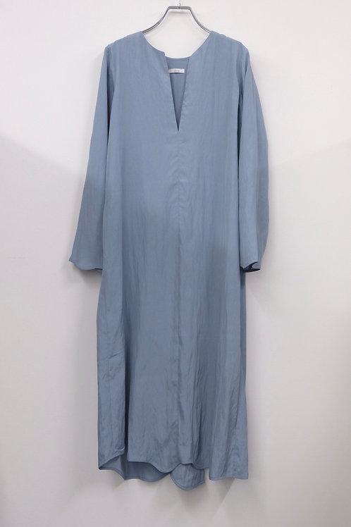 rayon washer wave hem dress