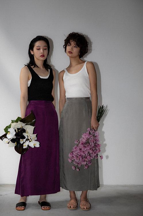 side box tuck skirt