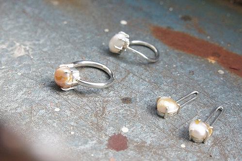 pearl ring(L)