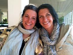 Julie Hannon and Amina Meineker