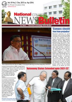 News Bulletin 2016 Even Semester copy