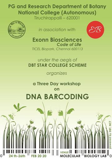 DNA Barcoding Workshop True Colour - Cop