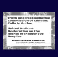 TRC Calls to Action and the UN Declaration: A Resource for Churches