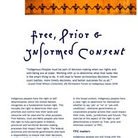 Free, Prior and Informed Consent Resource