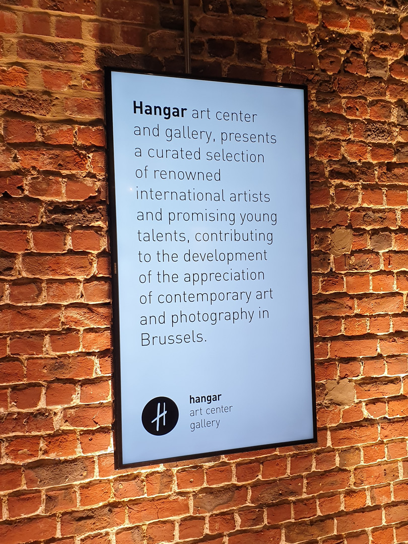 Hangar art gallery