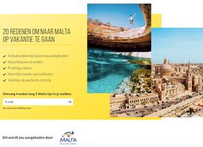 Goodbye says Hello to Malta !