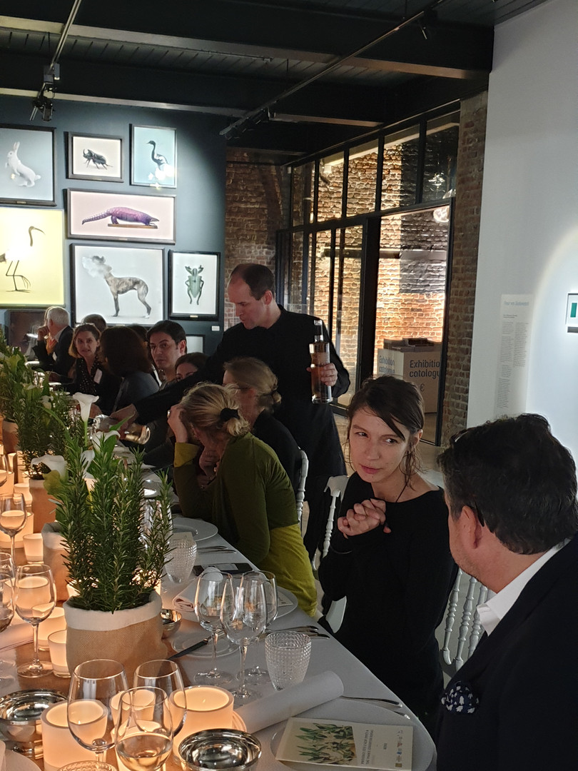 Networking, great food by Isabelle Arpin