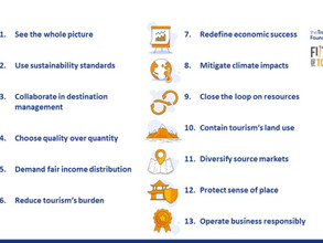 How to start a greener & more inclusive tourism strategy ?