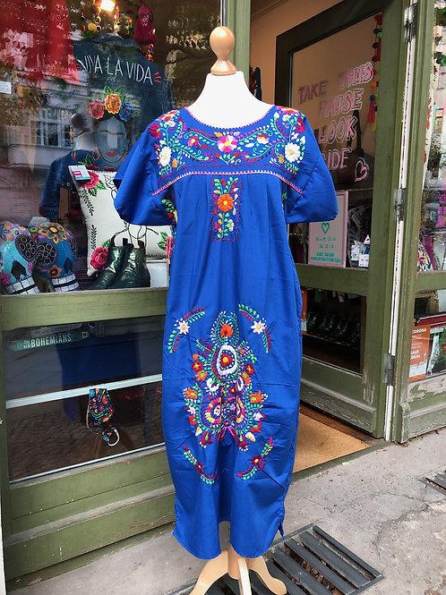 Blue Puebla dress - Medium/Large