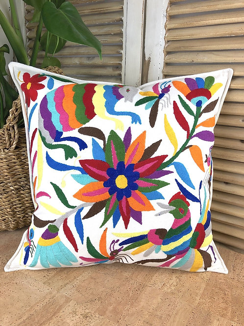 Otomi cushion cover - Multicolor #17