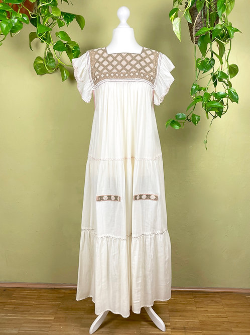 Maxi dress Andrea -  Beige IV - One size fits all