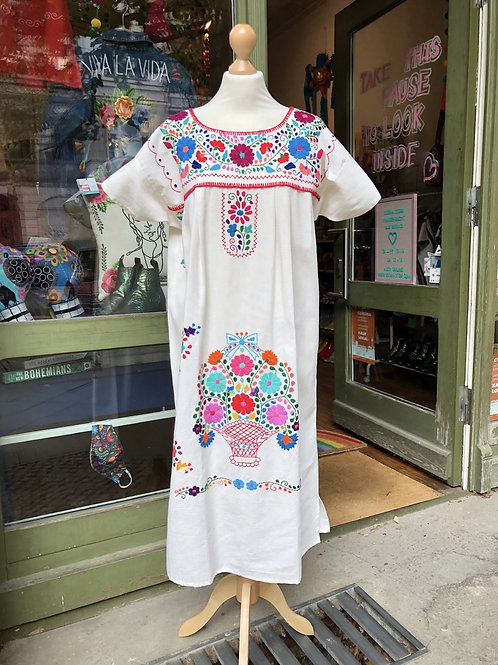 Cotton Puebla dress - L/XL