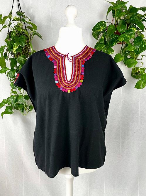 San Juan Chamula blouse - XL - 2XL