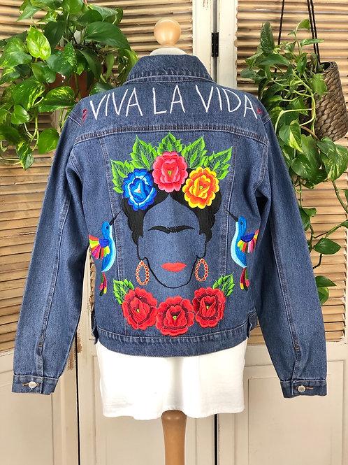 Jeans Jacket - Frida size 38 / Dark blue
