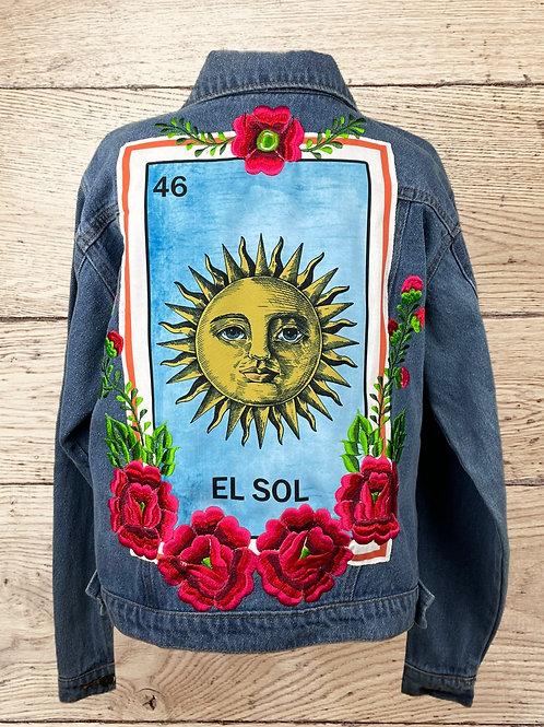 Jeans Jacket -  El Sol size 36