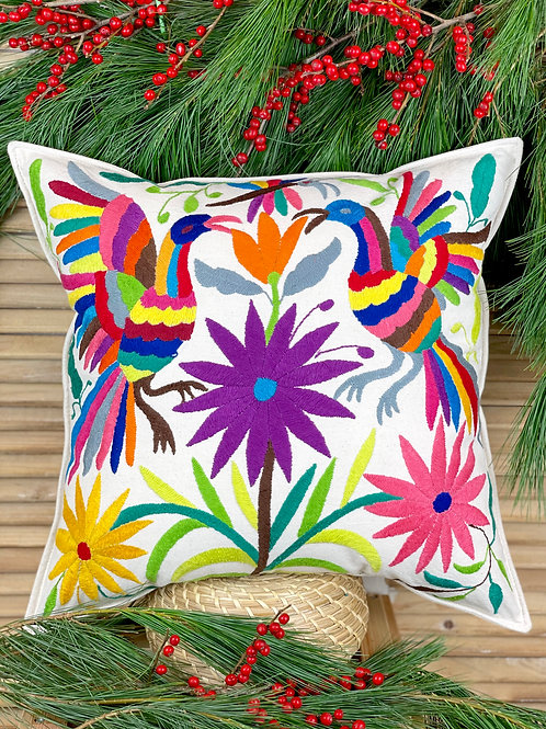 Otomi cushion cover - Multicolor #40