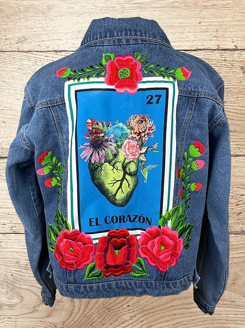 Jeans Jacket -  El Corazon size 36