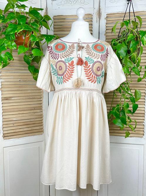 "Margarita dress open ""Dreamy"" -  Extra Large size"
