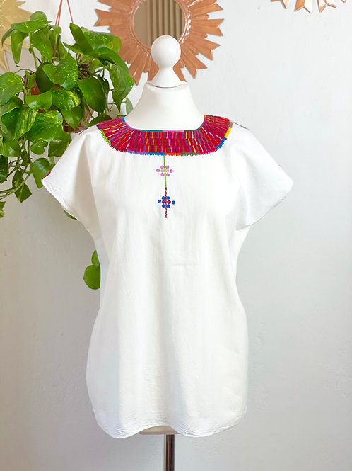 Santa Martha blouse white - Large