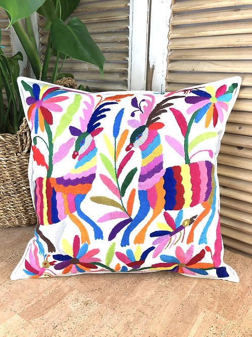 Otomi cushion cover - Multicolor #25
