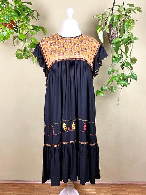 Midi dress Andrea - Black - L/XL