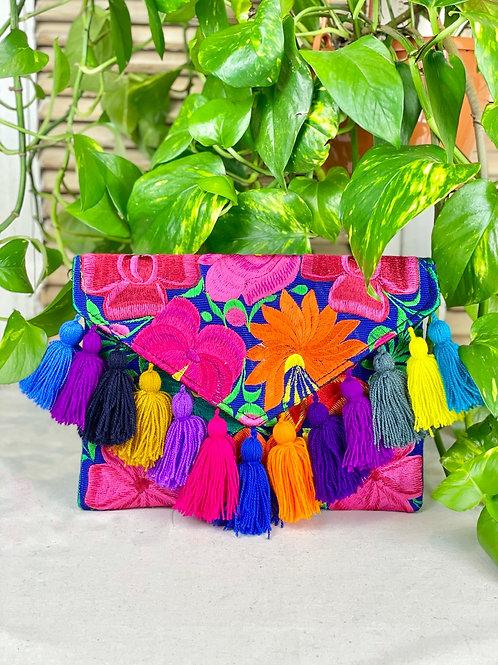 Las Flores clutch bag - Multicolor 2