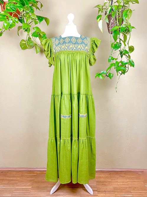 Maxi dress Andrea -  Green - One size fits all
