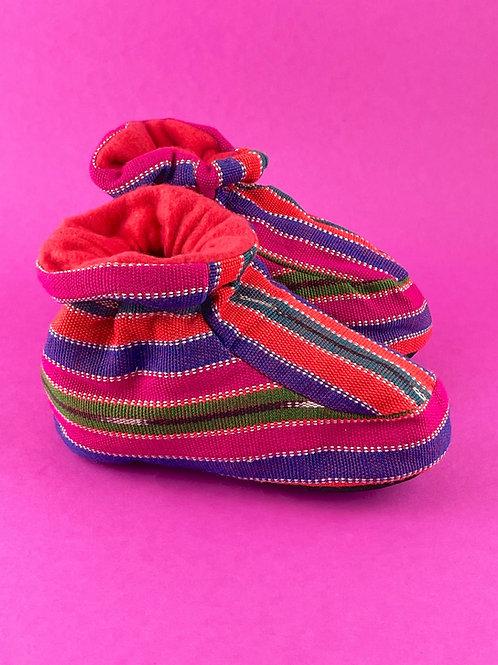 Guatemalan Slippers -     Kids Size 16 cm.