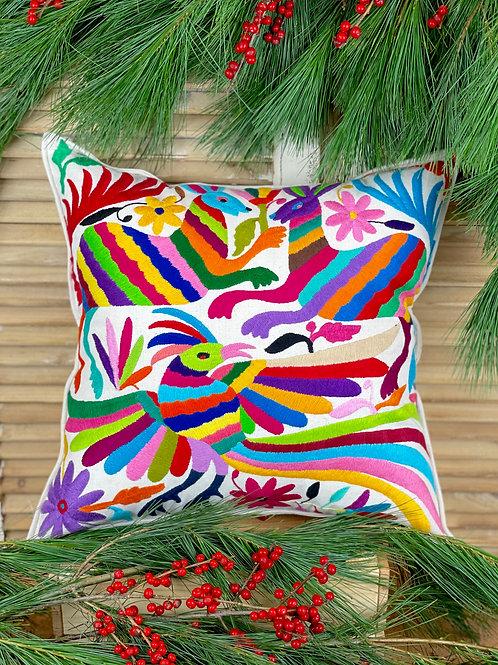 Otomi cushion cover - Multicolor #34