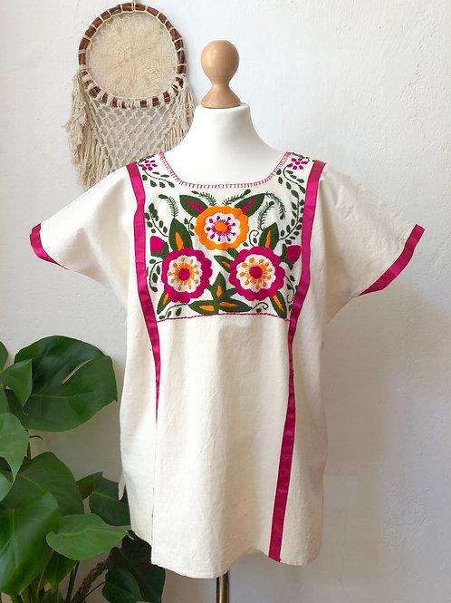Mitla blouse - Gardenias