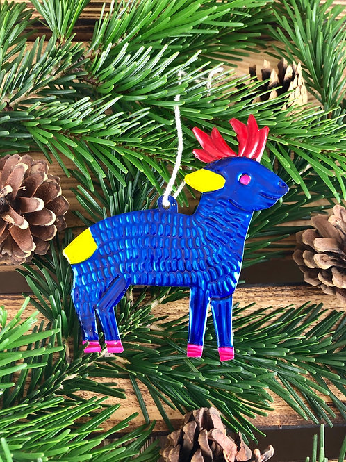 Deer - Christmas Tree Tin ornament