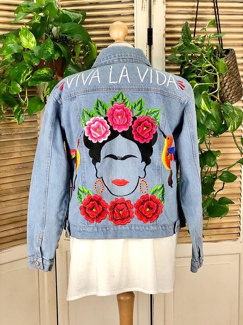 Jacket - Frida size 36 / Light blue