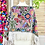 Thumbnail: Quexquemitl - Flowers fiesta grey