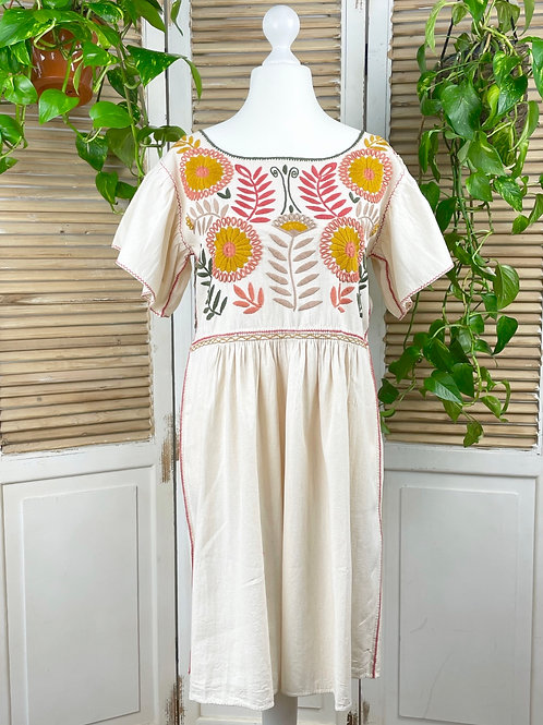 "Margarita dress ""Earth"" - Medium size"