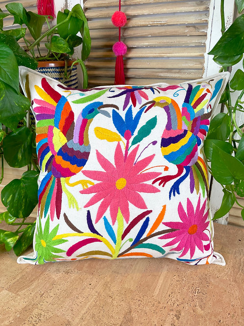 Otomi cushion cover - Multicolor #32