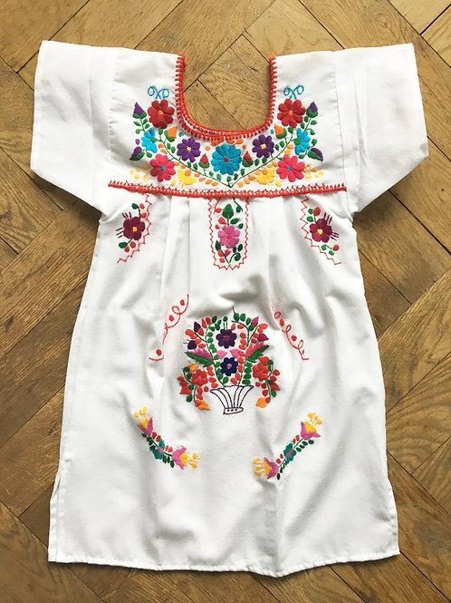 Little Puebla dress size 6 - Blanquita