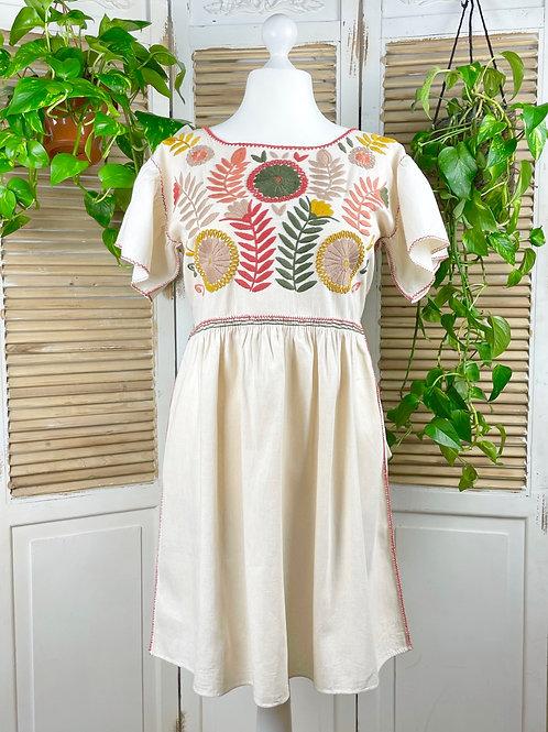 "Margarita dress ""Earth"" - Large size"