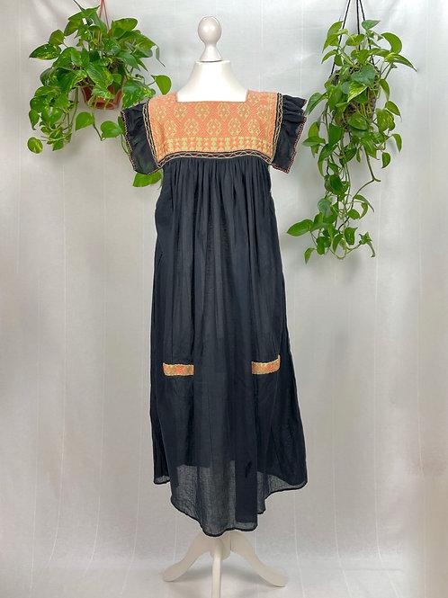 Black I Long dress Andrea - One size fits all